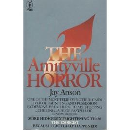 Anson, Jay: The Amityville horror (Pb)
