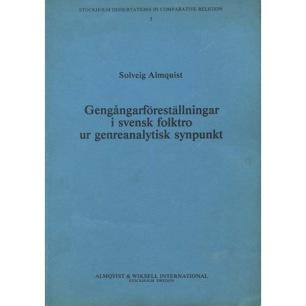 Almquist, Solveig: Gengångarföreställningar i svensk folktro ur genreanalytisk synpunkt