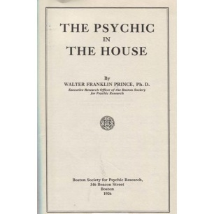 Prince, Walter Franklin: The psychic in the hourse.