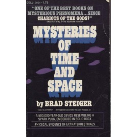 Steiger, Brad [Eugene E. Olson]: Mysteries of time and space (Pb)
