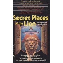 Williamson, George Hunt: Secret places of the Lion (Pb)