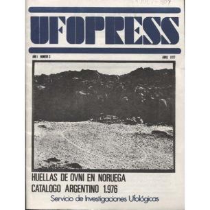 UFO Press (Giullermo Roncoroni, Argentina) (1977-1984) - 3 - Abril 1977 (vol. 1 n 3)