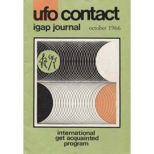 UFO Contact - IGAP Journal (Ronald Caswell & H C Petersen) (1966-1968)
