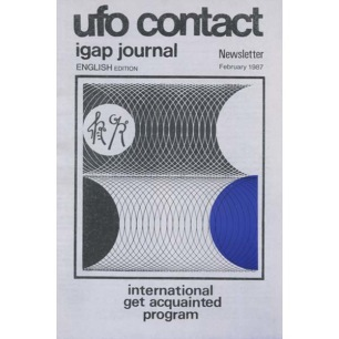 UFO Contact - IGAP Journal - Newsletter (Ib Laulund) (1987-1993)