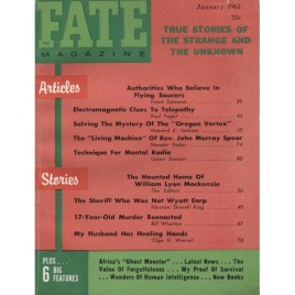 Fate Magazine US (1961-1962)