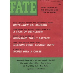 Fate Magazine US (1963-1964) - 154 - v 16 n 1 . Jan 1963