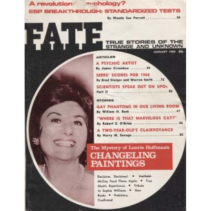 Fate Magazine US (1969-1970) - 226 - v 22 n 1 . Jan 1969