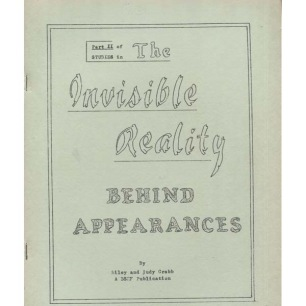Crabb, Riley & Judy: The Invisible Reality behind appearances: Part II of studies