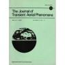 Journal of Transient Aerial Phenomena (1979-1989) - Vol 5 No 4 - March 1989