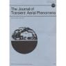 Journal of Transient Aerial Phenomena (1979-1989) - Vol 2 No 1 - May 1981