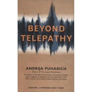 Puharich, Andrija: Beyond telepathy