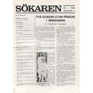 Sökaren (1968-1970) - 1968-1