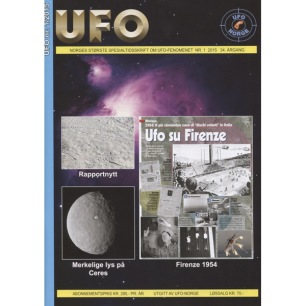 UFO (Norge/Norway) 2015-2017 - 2015 complete all 4 issues