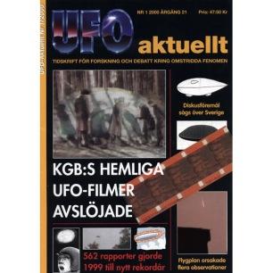 UFO Aktuellt 2000-2004 - 2000 volume 21 complete
