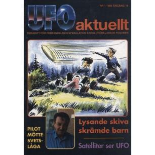 UFO Aktuellt 1995-1999 - 1995 complete volume 4 issues