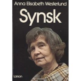 Westerlund, Anna Elisabeth: Synsk