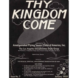 AFSCA: Thy Kingdom Come, AFSCA World Report, UFO International, Flying Saucers International)