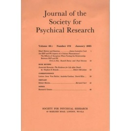 Journal of the Society for Psychical Research (1929-2010)