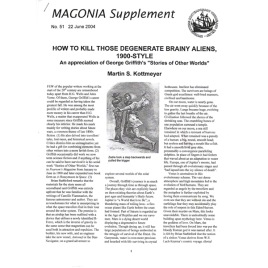 Magonia Supplement (2004-2006), collection