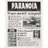 Paranoia (1994-1995, 2005-2008) - Vol 2 no 2 issue 4