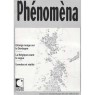 Phénoména (1991-1999) - No 6 Nov-Dec 1991