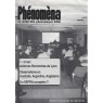 Phénoména (1991-1999) - No 9 Mai-Jui 1992