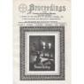 Proceedings (College Of Universal Wisdom 1959-1978) - Vol 9 no1 Oct/Nov/Dec 1969