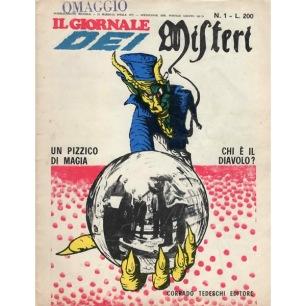 Il Giornale dei Misteri (1970-1976) - N. 1 - Marzo-Aprile 1971