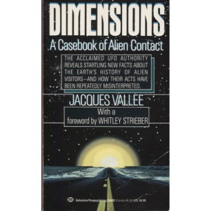 Vallée, Jacques: Dimensions. A casebook of alien contact (US, Pb)