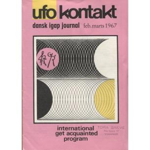 UFO Kontakt, Dansk IGAP journal 1966-1979