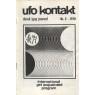 UFO Kontakt, Dansk IGAP journal 1966-1979 - Nr 3 1970