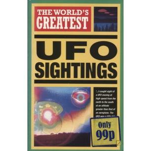 Cawthorne, Nigel: The world's greatest UFO sightings