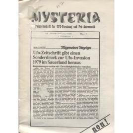 Mysteria; Fachzeitschrift für UFO-Forschung und Prä-Astonautik (1981 - 1982)