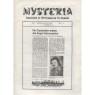 Mysteria; Fachzeitschrift für UFO-Forschung und Prä-Astonautik (1981 - 1982) - Die Mysteria-bibliothek, No. 3