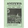 Mysteria; Fachzeitschrift für UFO-Forschung und Prä-Astonautik (1981 - 1982) - 1981. No.5