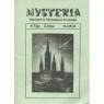 Mysteria; Fachzeitschrift für UFO-Forschung und Prä-Astonautik (1981 - 1982) - 1981. No.7