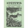 Mysteria; Fachzeitschrift für UFO-Forschung und Prä-Astonautik (1981 - 1982) - 1981. No.9