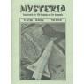 Mysteria; Fachzeitschrift für UFO-Forschung und Prä-Astonautik (1981 - 1982) - 1981. No.12