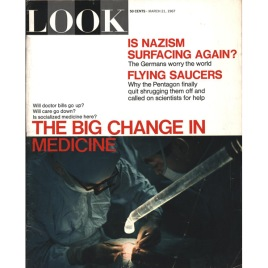 LOOK Magazine – March 21, 1967 – Flying Saucers