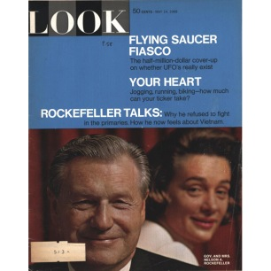 LOOK Magazine – May 14, 1968 – Flying Saucers