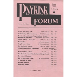 Psykisk Forum (1966-1982)