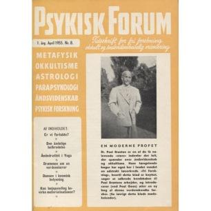 Psykisk Forum (1955-1965) - 1955 Apr
