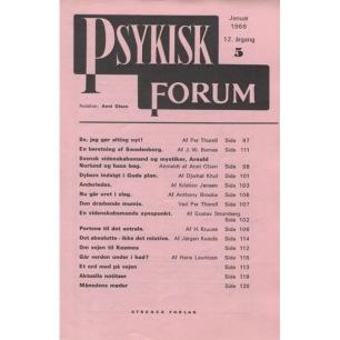 Psykisk Forum (1966-1982) - 1966 Jan