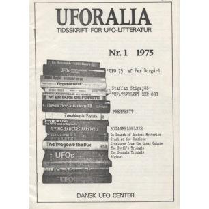 Uforalia: Tidskrift för UFO-litteratur(1975-1978) - No 1 1975