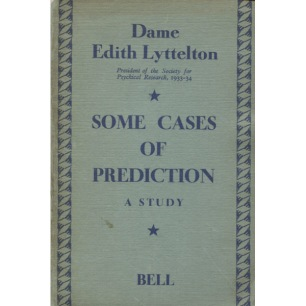 Lyttelton, Edith: Some cases of prediction: a study