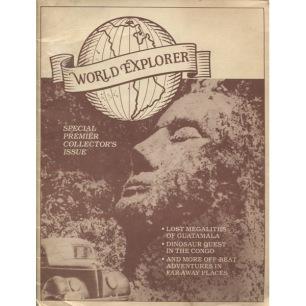 World Explorer (1992-2008) - Vol 1 no 1