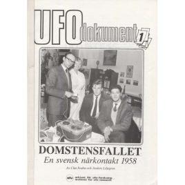 Svahn, Clas & Liljegren, Anders: Domstensfallet. En svensk närkontakt 1958 (2:a utgåvan)