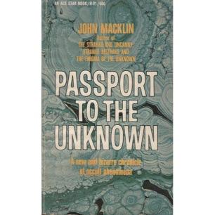 Macklin, John: Passport to the unknown (Pb)
