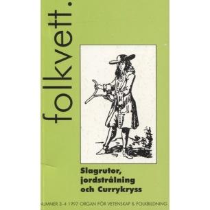 Folkvett (1997 - 2012) (2014) - 1997, Nr 3 - 4