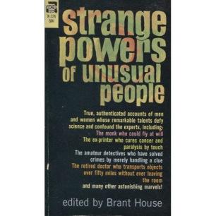 House, Brant [ed.]: Strange powers of unusual people (Pb)